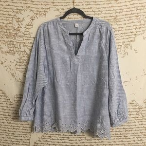 Old Navy Striped Blouse
